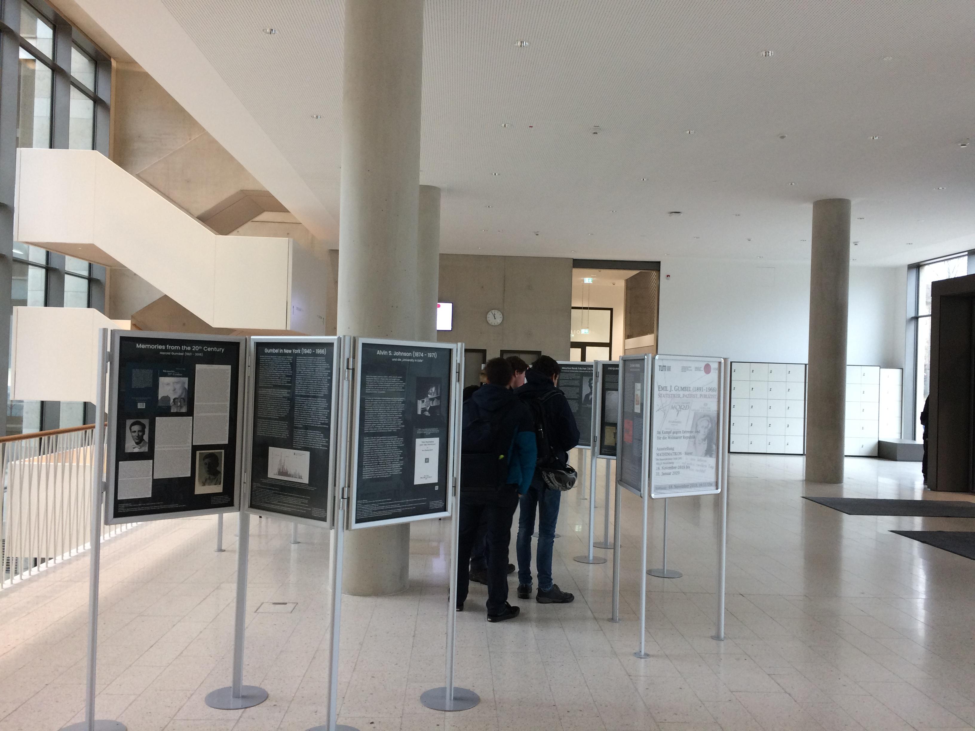 Erich Gumbel exhibition